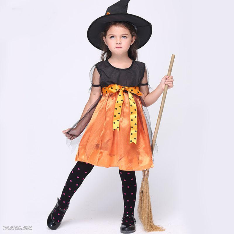 مدل لباس هالووین کودکانه