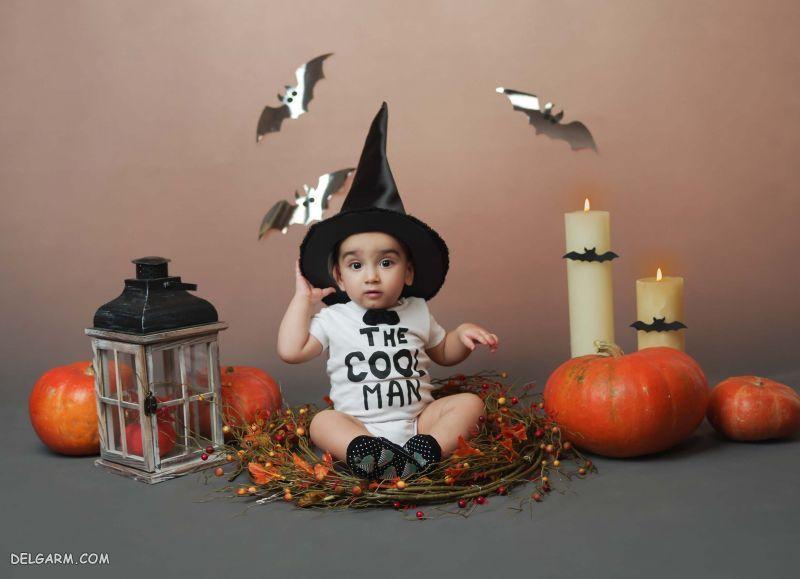 لباس نوزادی برای هالووین