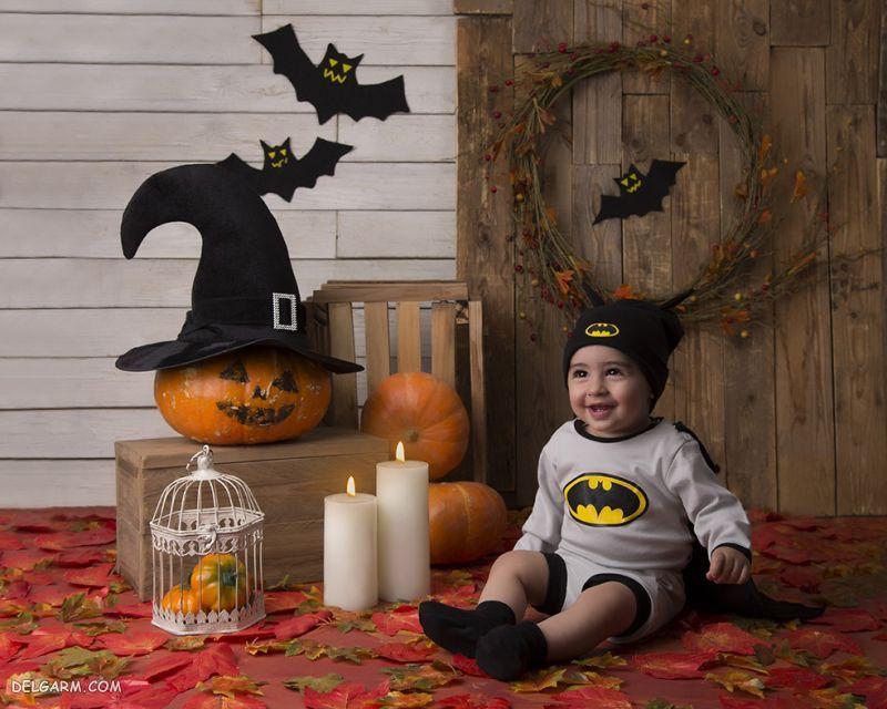 لباس بچگانه برای تم هالووین