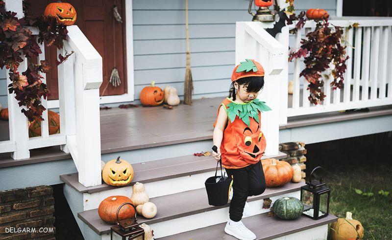 لباس ترسناک هالووین برای کوکان