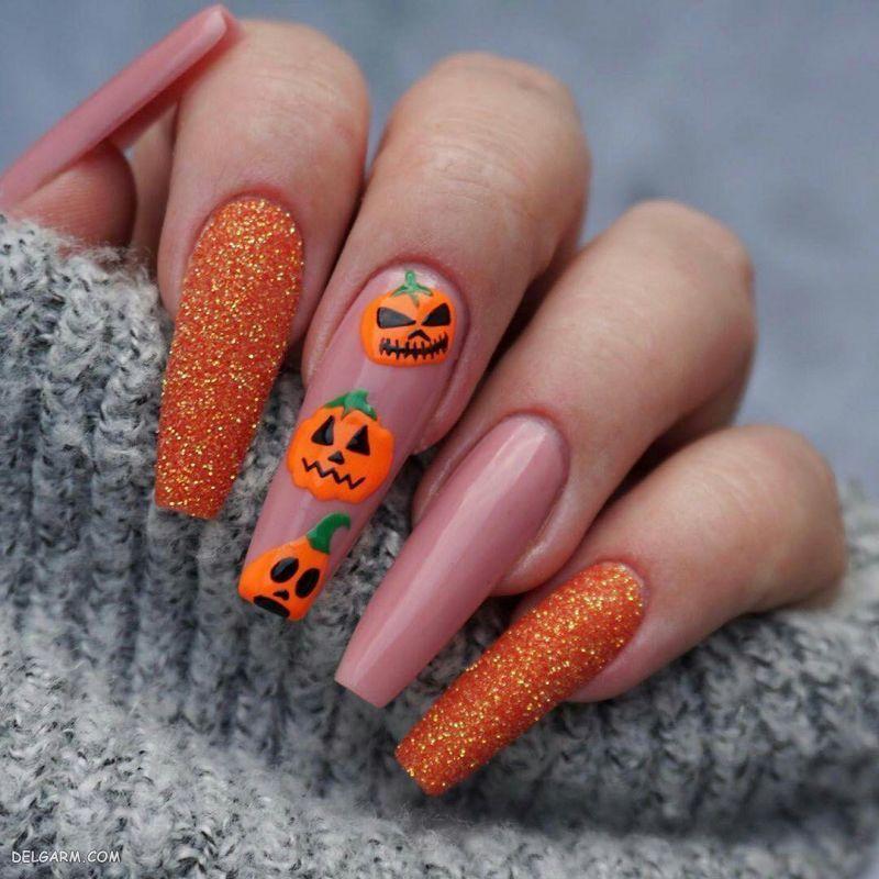کاشت ناخن هالووین