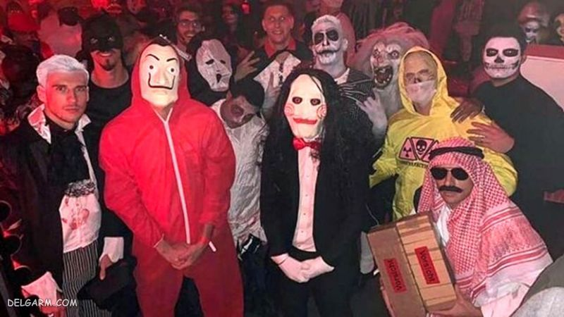 لباس شخصیت های ترسناک