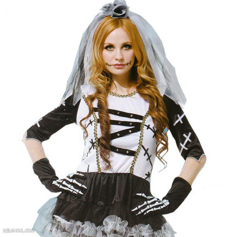 لباس هالووین زنانه