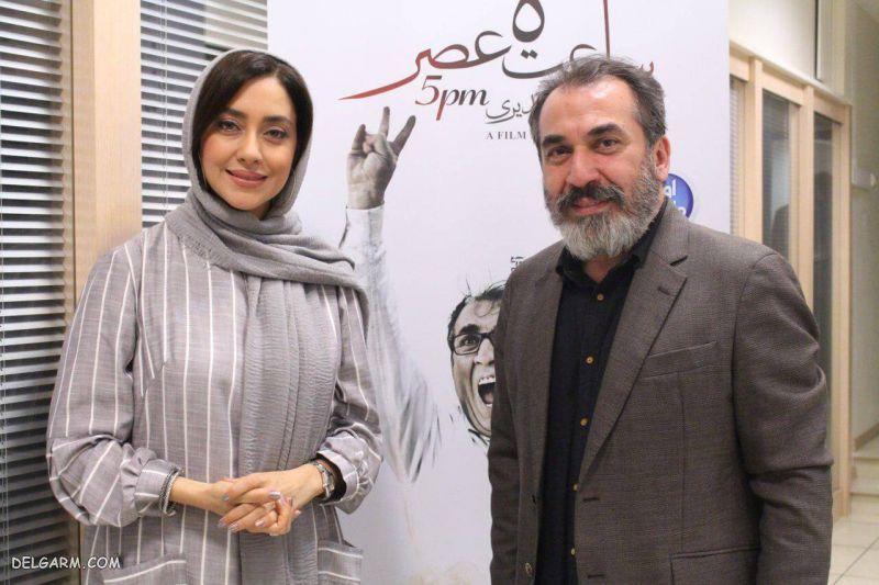 بیوگرافی سیامک انصاری و همسرش