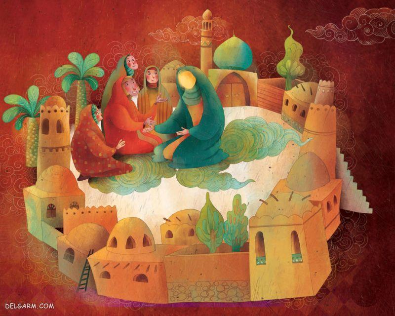 شعر کودکانه درمورد ولادت حضرت معصومه