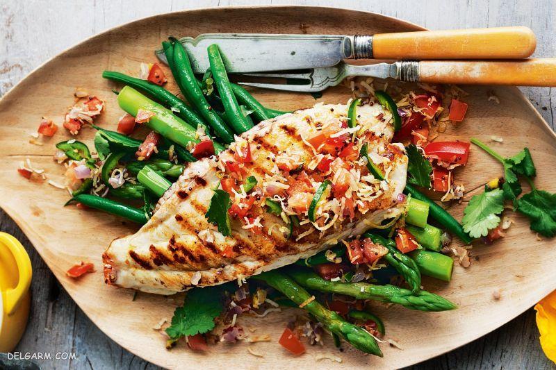 ادویه ماهی سالمون/ ادویه ماهی حلوا سیاه
