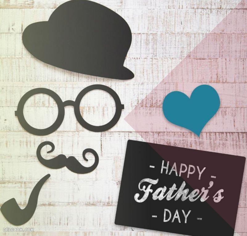 عکس نوشته درمورد روز پدر