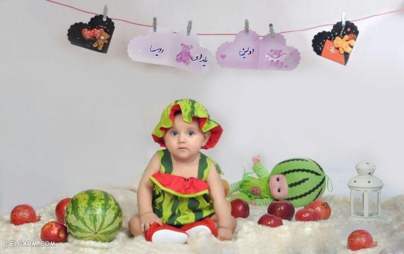 لباس شب یلدا برای پسر بچه