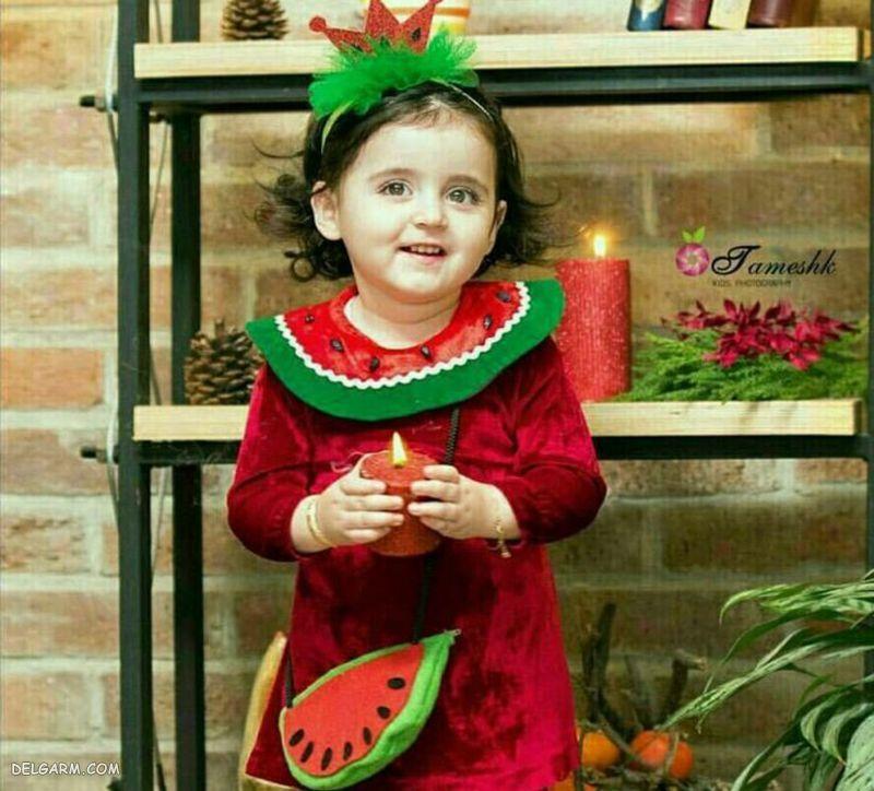لباس شب یلدا برای کودکان