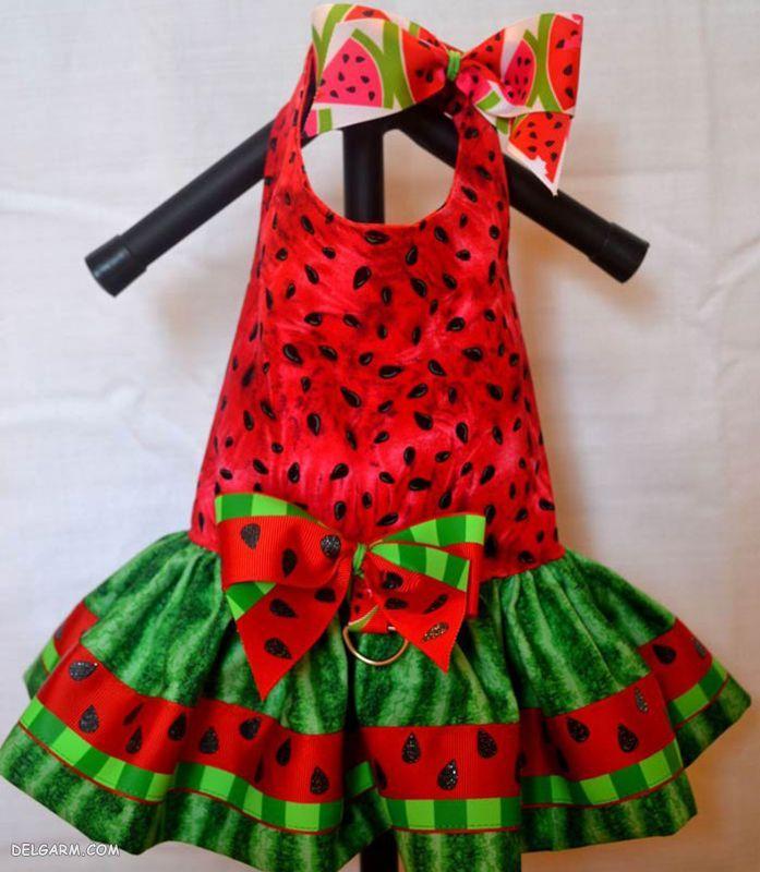 مدل لباس بچگانه شب یلدا