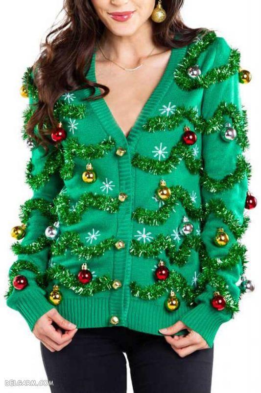 لباس طرح درخت کریسمس