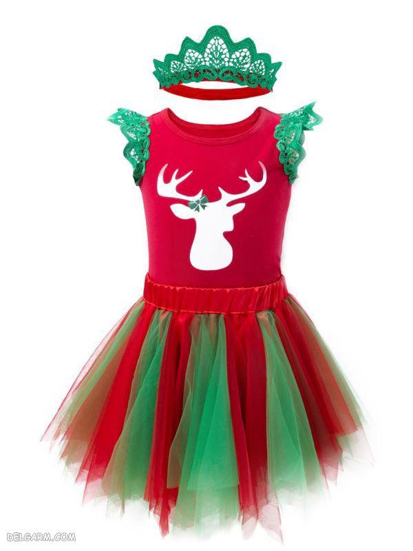 لباس کریسمس برای دختر