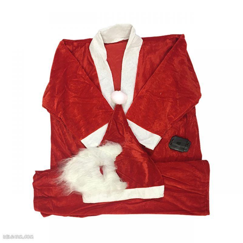 لباس بابانوئل دخترانه