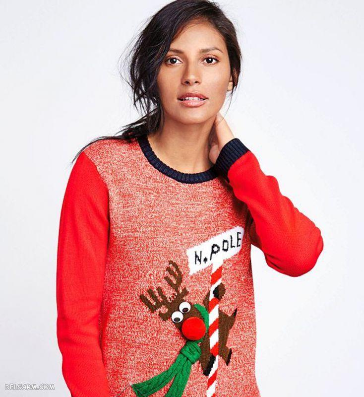 لباس طرح کریسمس برای دختر