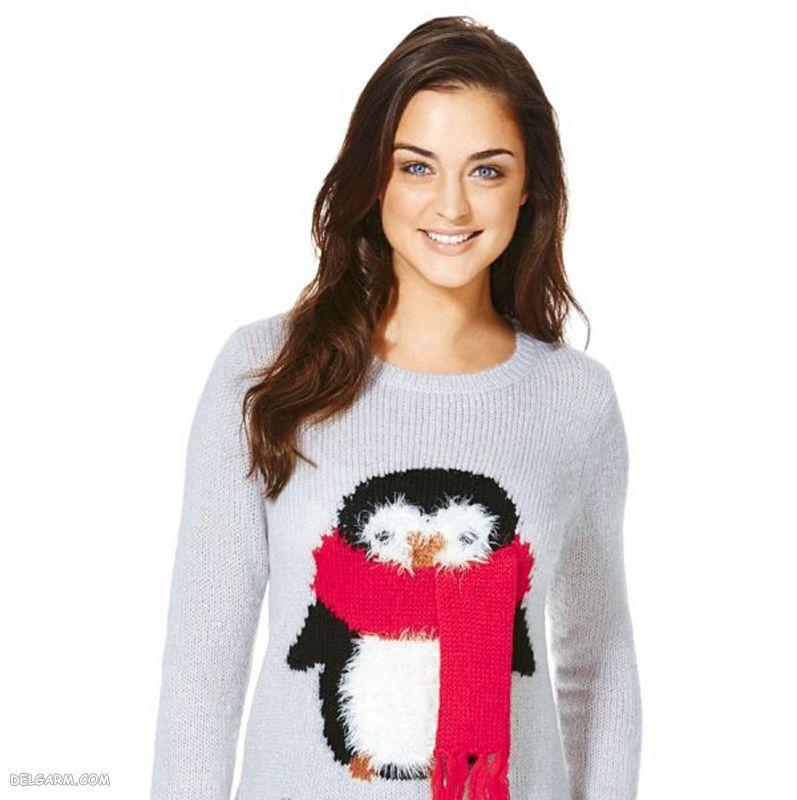 لباس کریسمسی زنانه