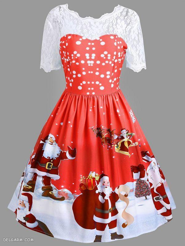 لباس کریسمس خانم ها