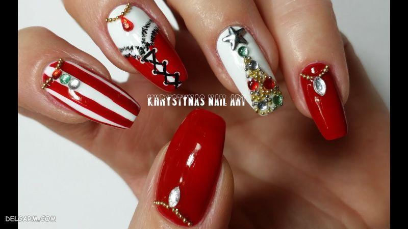 کاشت ناخن بابانوئلی