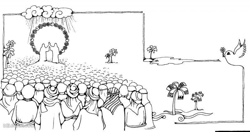 نقاشی عید غدیر برای کلاس هفتم