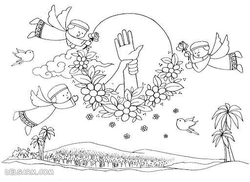 نقاشی عید غدیر برای کلاس چهارم