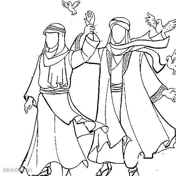 نقاشی عید غدیر برای کلاس دوم