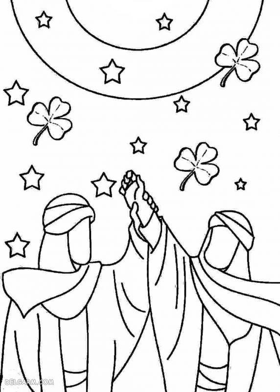 نقاشی عید غدیر برای کلاس اول