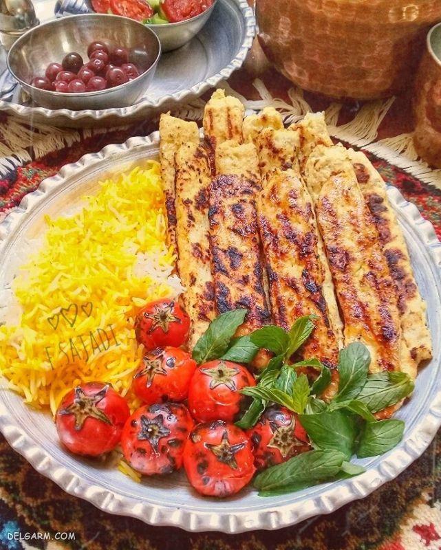 دستور پخت کباب کوبیده مرغ