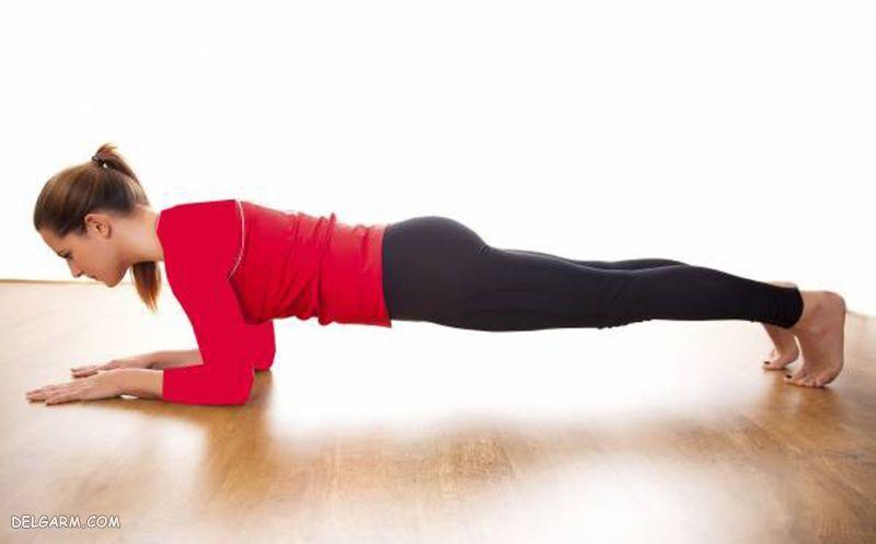 آب شدن شکم با ورزش