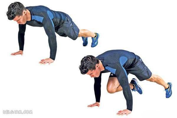 آب کردن چربی زیر شکم با ورزش