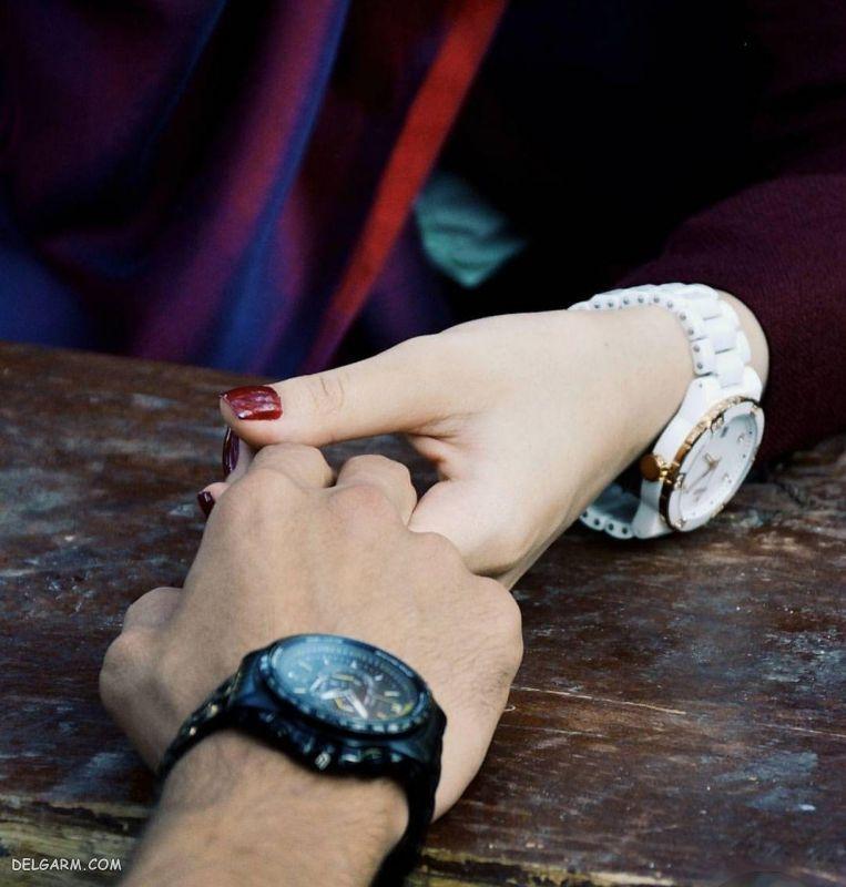 عکس زیبای دست