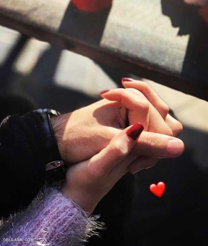 عکس دست های دختر و پسر