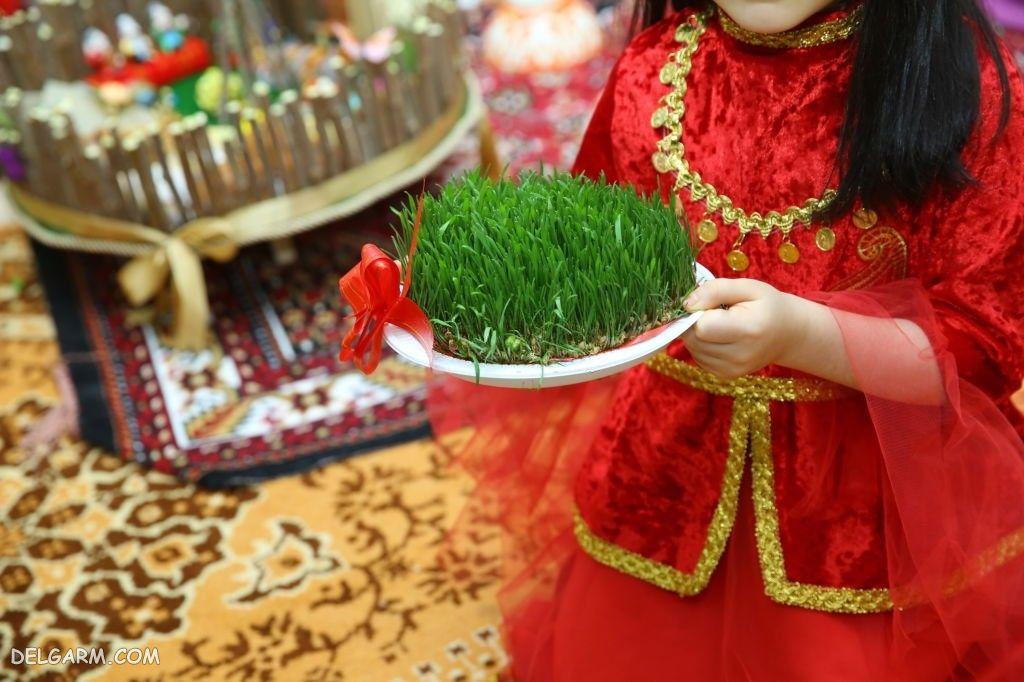 عکس سبزه عید
