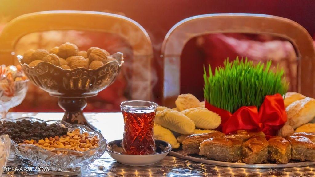 عکس سبزه عید برای بک گراند