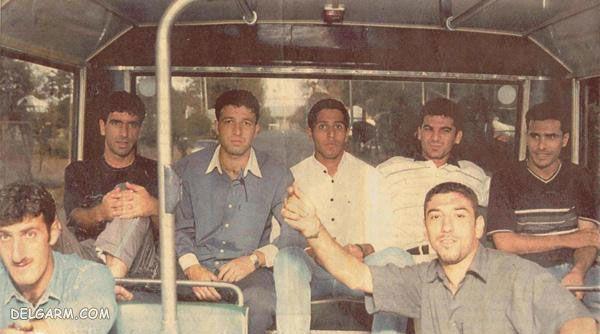 عکس قدیمی علی انصاریان