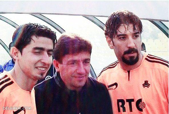 عکس های قدیمی علی انصاریان