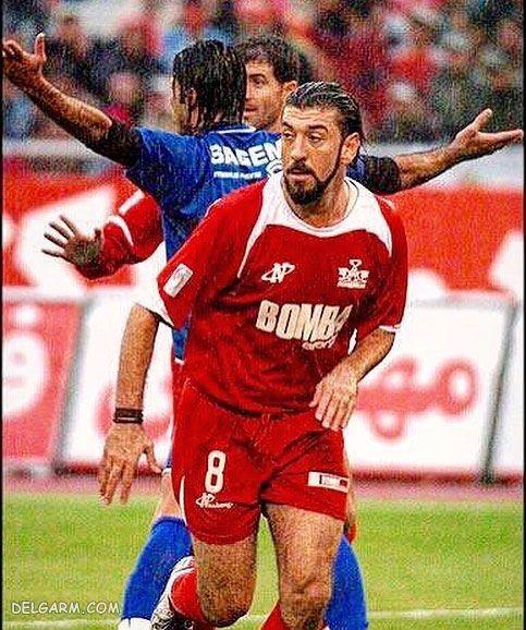 عکس فوتبالیستی علی انصاریان