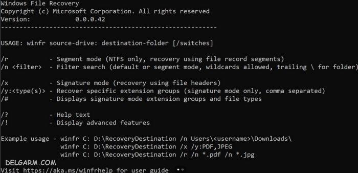 نرم افزار ریکاوری ویندوز 10