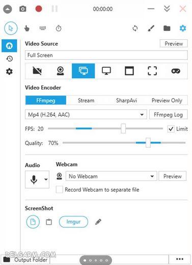 ضبط فیلم و اسکرین شات در ویندوز 10