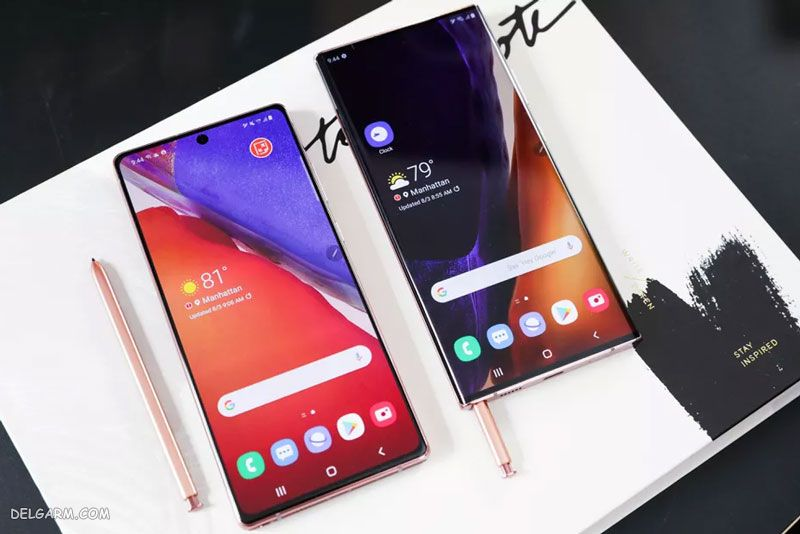 Galaxy Note 20 و Galaxy Note 20 Ultra