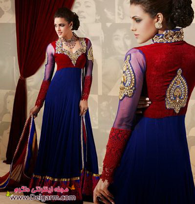 لباس هندی زنانه 2014