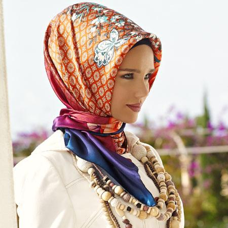 فیلم آموزش بستن روسری سایز بزرگ عکس بستن روسری-بستن شال-گروه اول