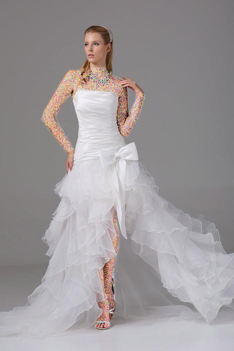 عکس+لباس+عروس+با+کاندوم
