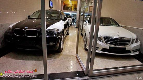خودروهای لوکس در تهران