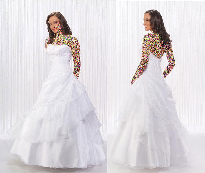 مدل لباس جدید عروسکی پفکی مدل لباس عروس و نامزدی -گروه سوم