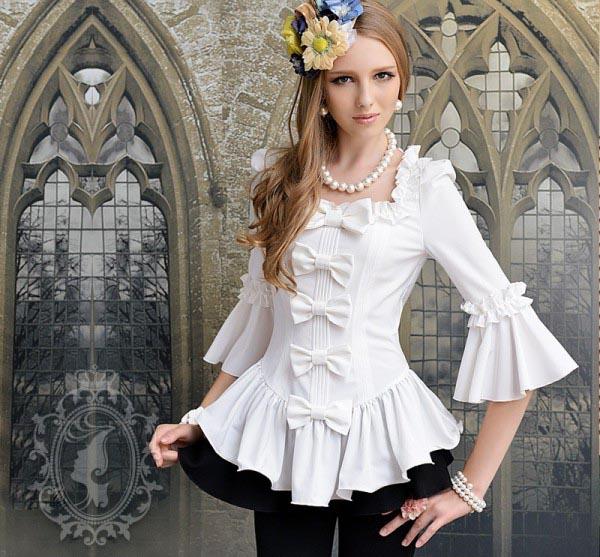 عکس مدل بلوز شلوار مجلسی دخترانه