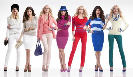 بر اساس رنگ پوست ومو رنگ لباستان را انتخاب کنید