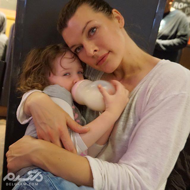 بیوگرافی  و تصاویر میلا یوویچ Milla Jovovich
