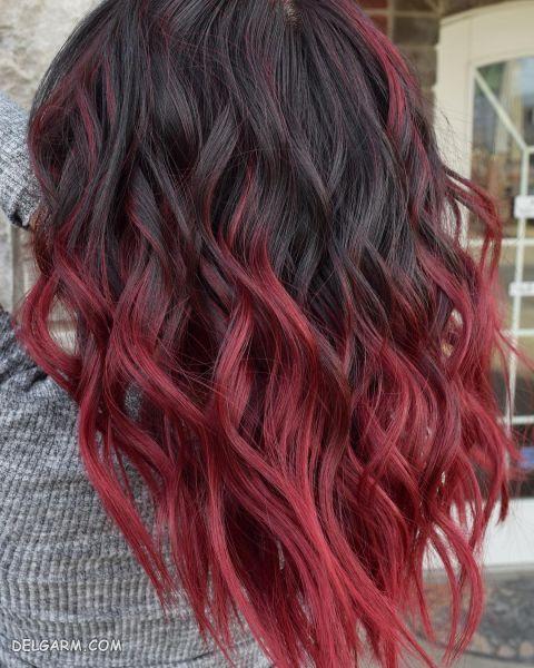 رنگ موی فانتزی 2019