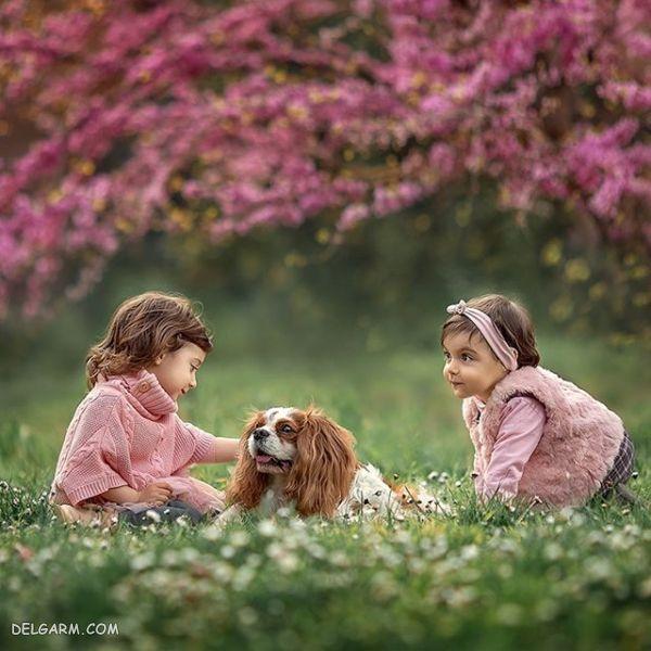 تصاویری از چشمان دختر بچه های زیبا