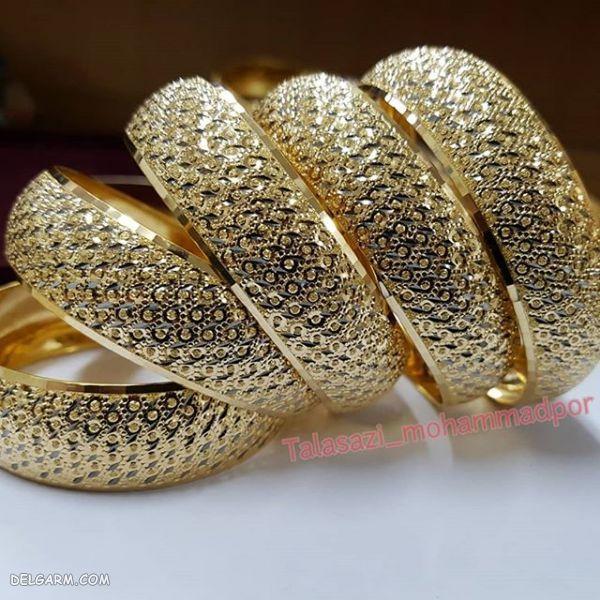 مدل تکپوش طلا و تکدست طلا