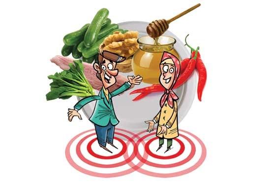مواد غذایی که باعث کاهش میل جنسی میشود